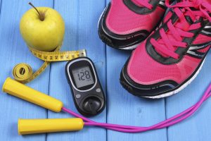 Managing Diabetes through good health, eating, exercise, weight management and monitoring blood sugar is important